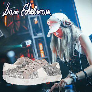 Sam Edelman Women's Baylee Sneaker Shoe Leather